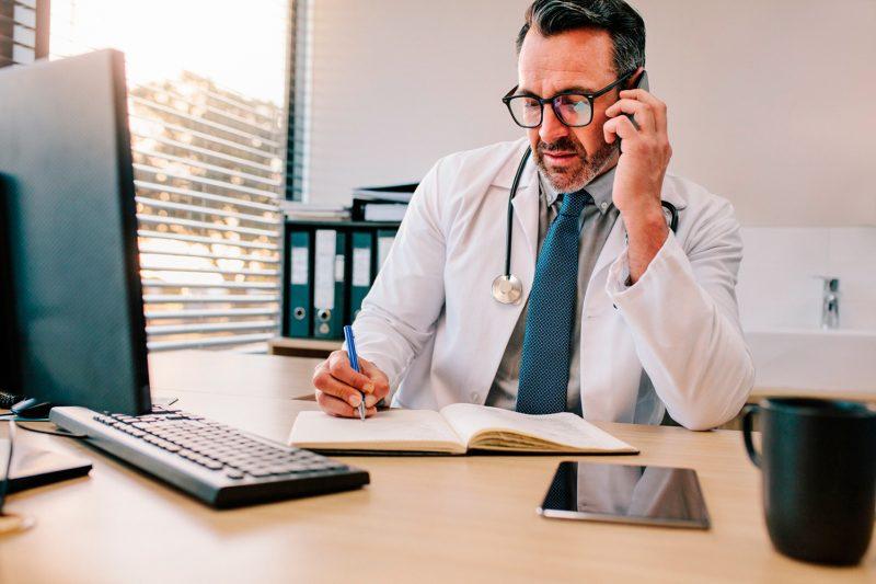 Marcações para Consultas Médicas por Telefone